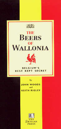 Beers of Wallonia Book Cover